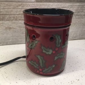 Scentsy Christmas Holly Warmer